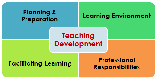 TeachingDevelopmentDomainsLogo