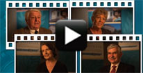 "Image with video play button for ""Voices of Leadership: Vision for Health Care's Future"""