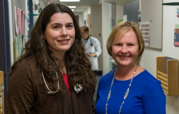MGH Institute Associate Professor of Nursing Patricia Reidy, DNP, FNP-BC, RN, and Massachusetts General's Marya J. Cohen, MD, MPH,