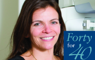 Forty for 40: Kimberly Russell, Certificate-Medical Imaging '06