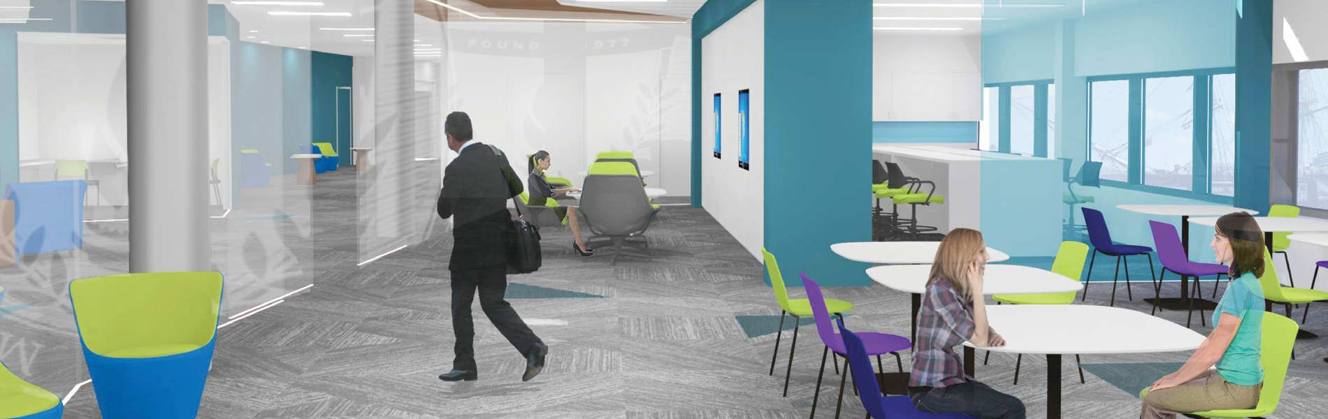 Collaborative space for students and faculty