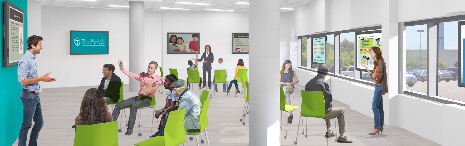 Community Education and Active Learning Classroom