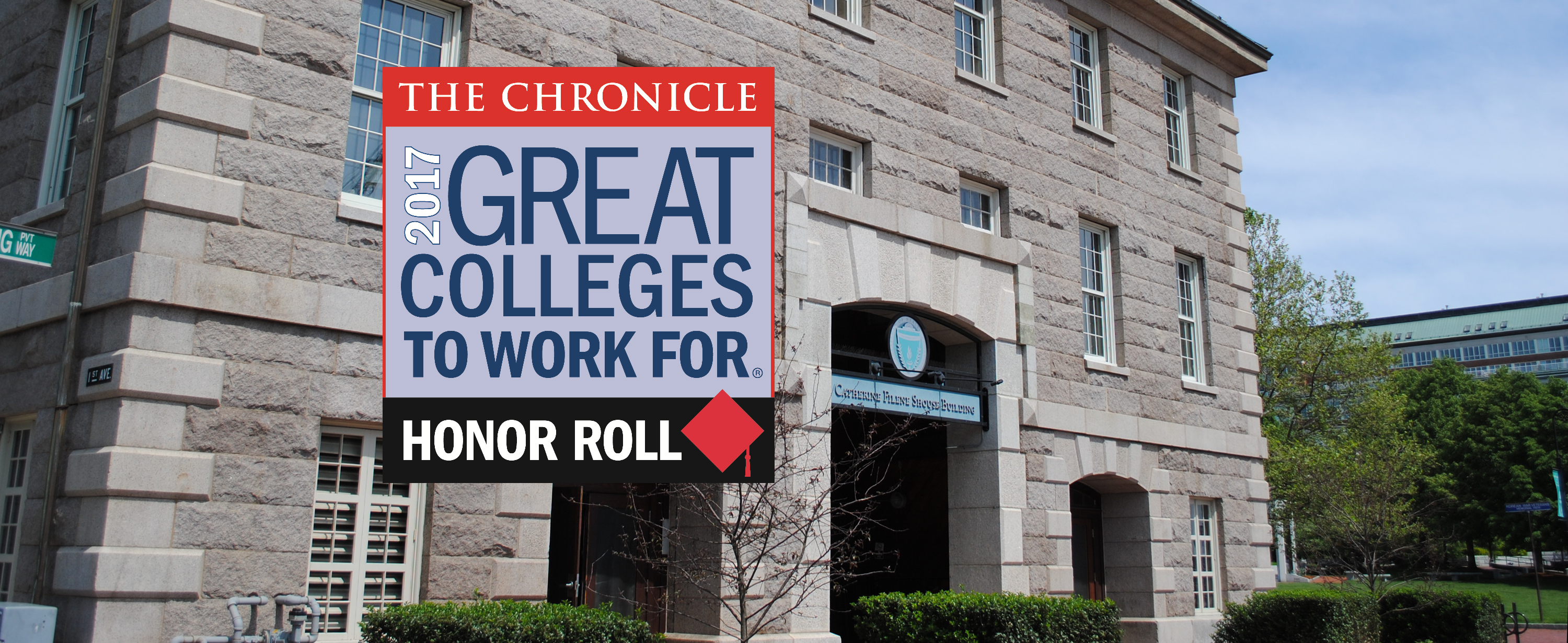 2017 Great Colleges to Work For Honor Roll