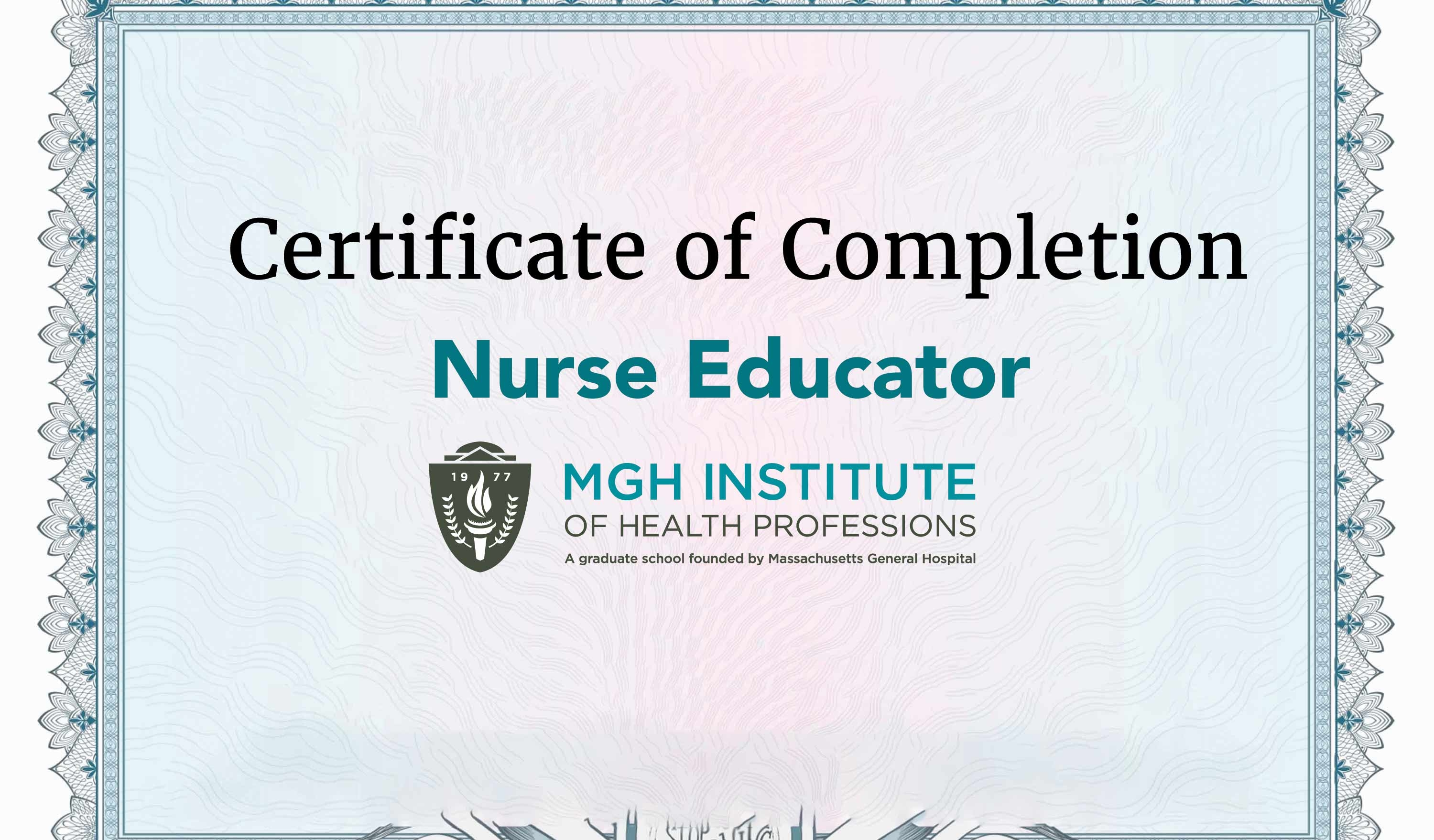 Nurse Educator Certificate