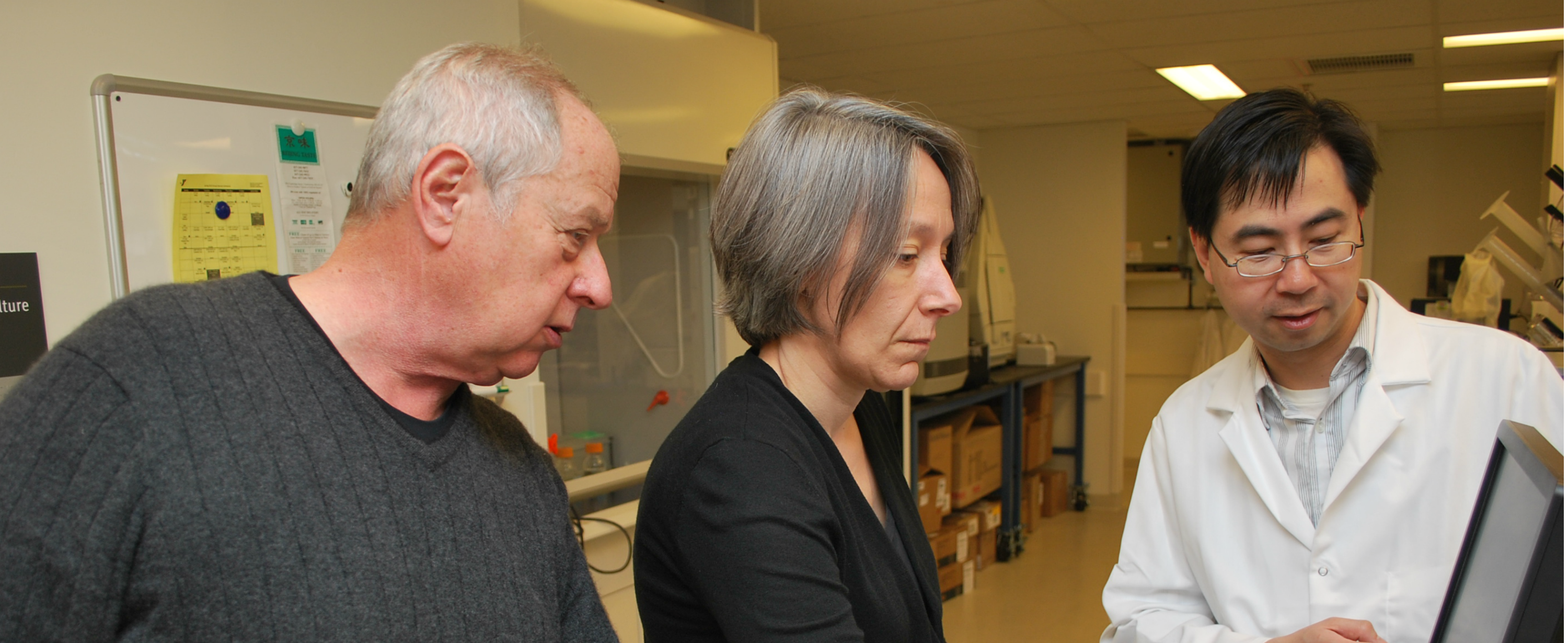 Researchers in the Fatigue Lab