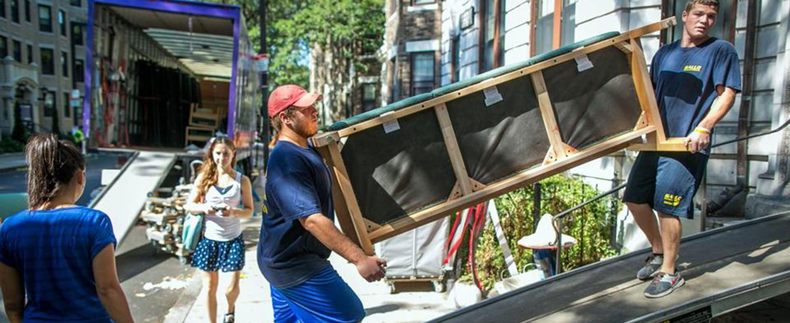Photo of moving in