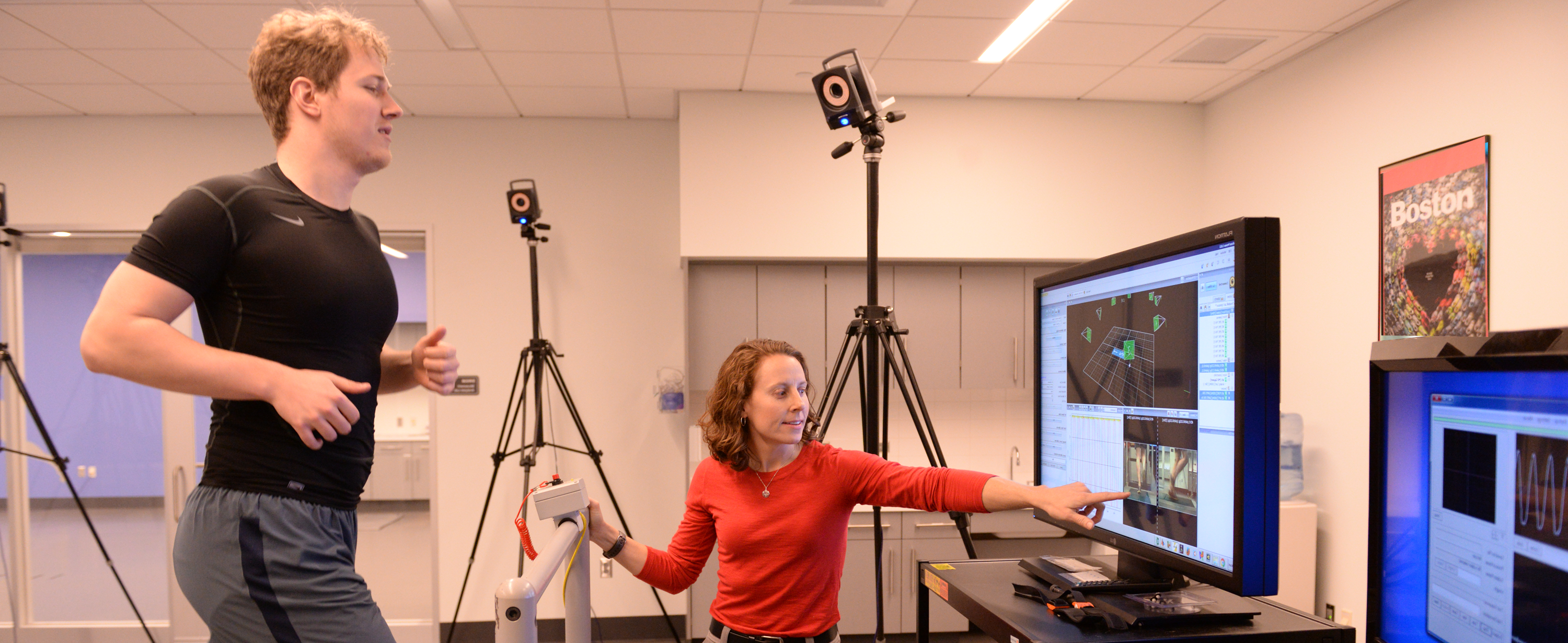 PhD Research Fellow Erin Futrell in Biomotion study