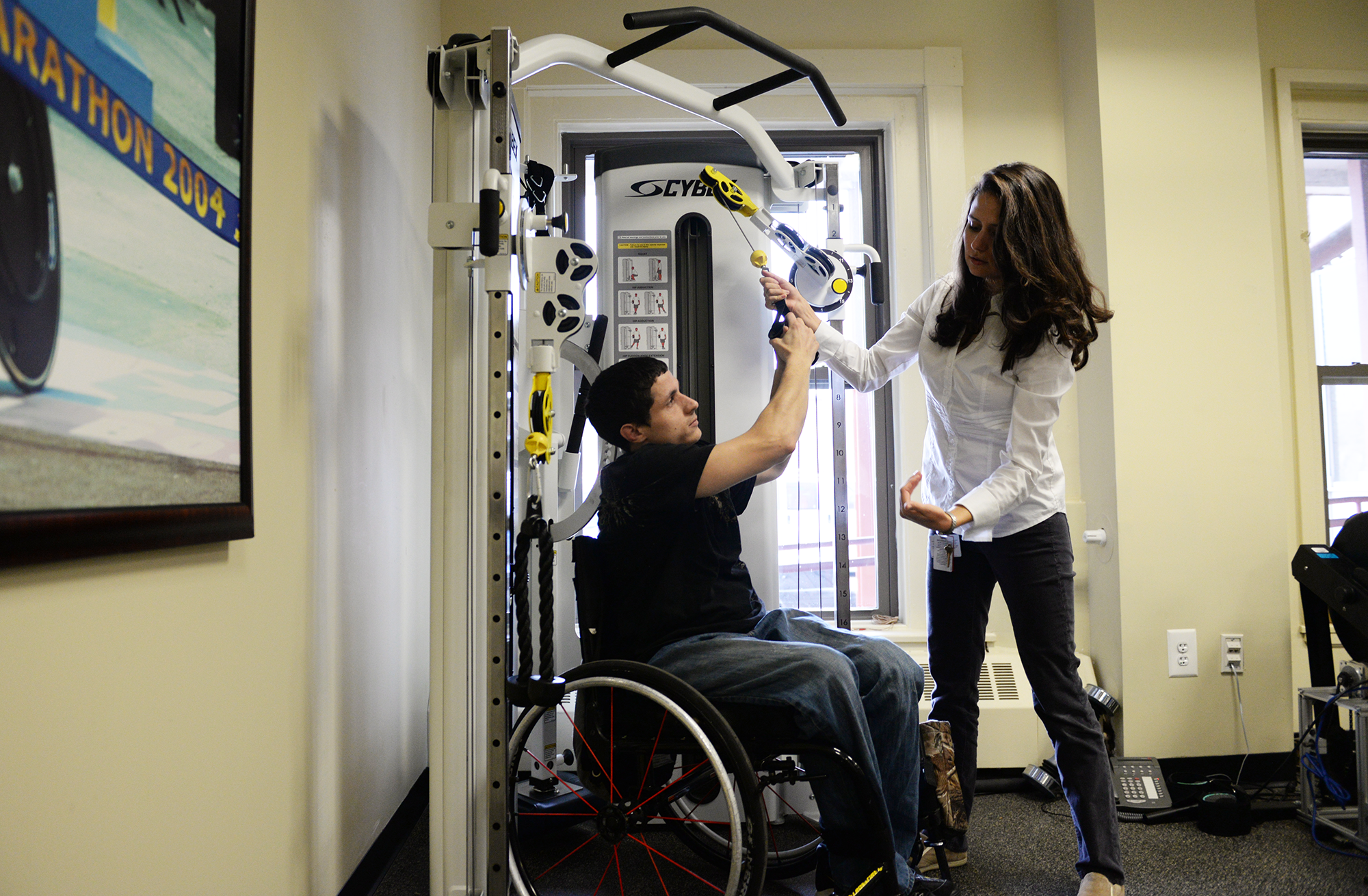 Advance physical therapy - Photo Of Clinical Resident Working With Orthopaedic Pt Client