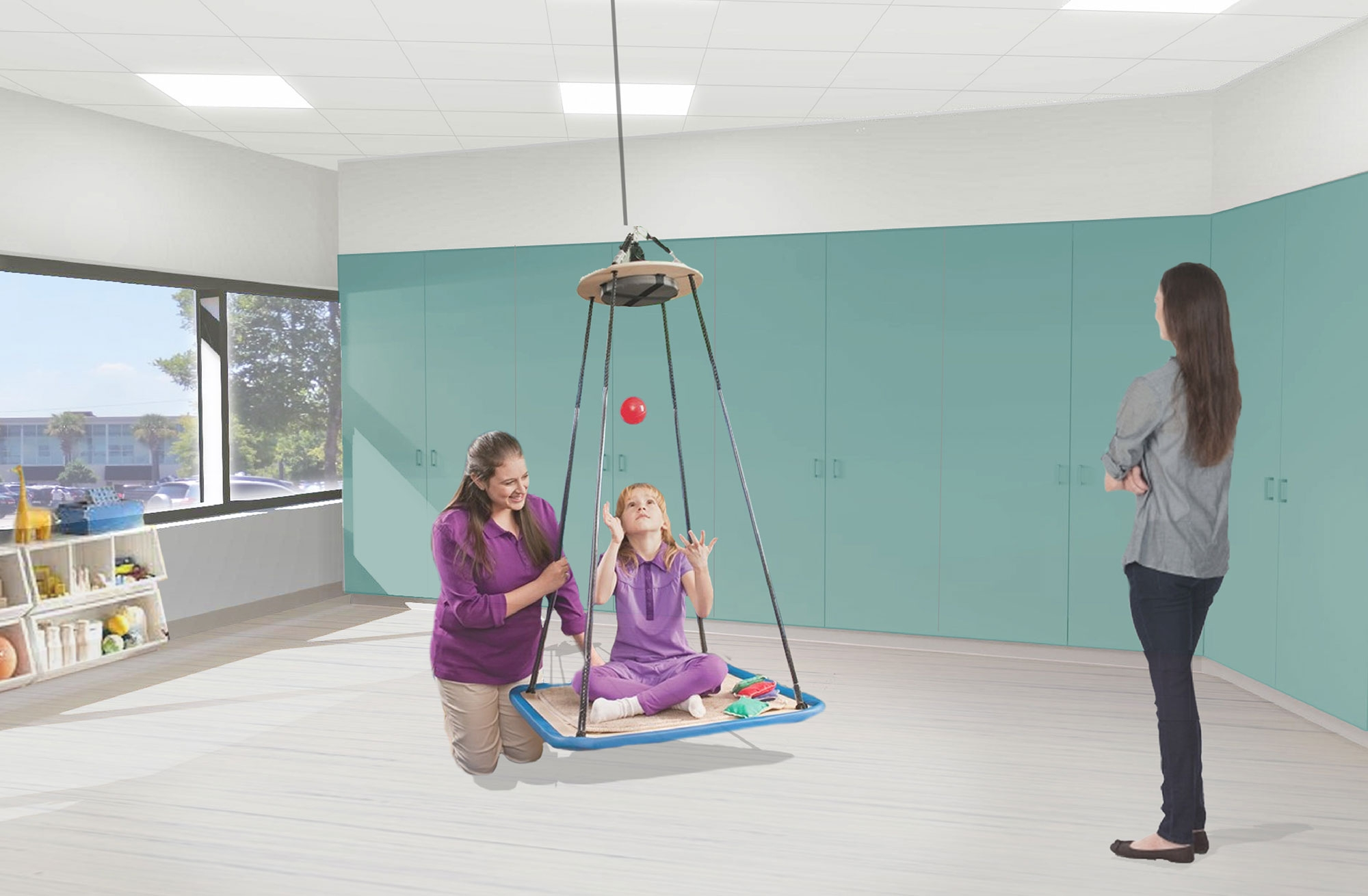 Pediatric Rehabilitation area
