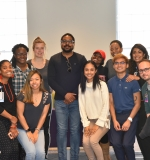 Students with Dr. Jonathan Jackson
