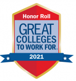 2021 Great Colleges to Work For Honor Roll