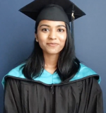 Meyyammai Muthu, SLP '20, gave the virtual keynote address.