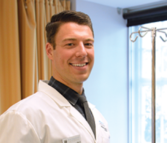 Photo of Andy Andrew, Physician Assistant Studies student