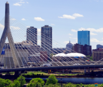 Image of the Zakim Bridge in Boston
