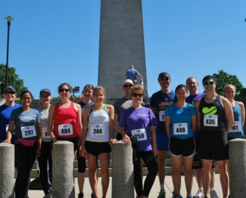 Team IHP in the Battle of Bunker Hill Road Race