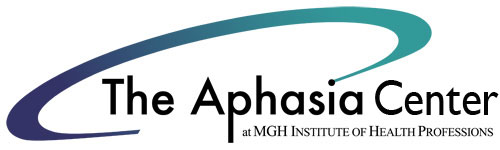 Logo for the Aphasia Center 500 px wide