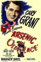 Poster for the film Arsenic and Old Lace