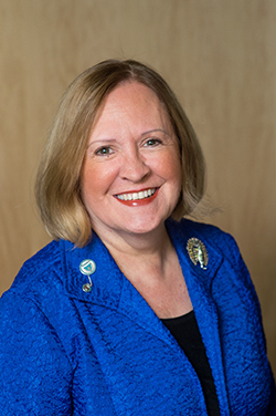 Photo of President Janis Bellack