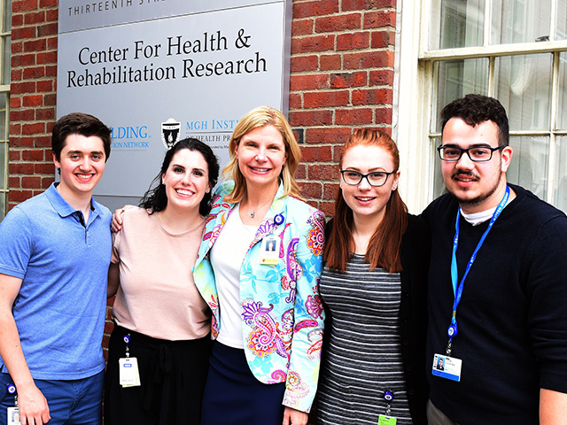 Photo of the Brain Recovery Lab Team