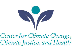Logo for the Center for Climate Change, Climate Justice, and Health