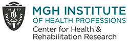 Logo for the Center for Health & Rehabilitation Research