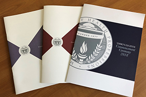Photo of MGH Institute Commencement Programs