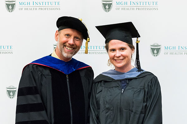 Chair Gregory Lof and Anne Wellington Dixon '17