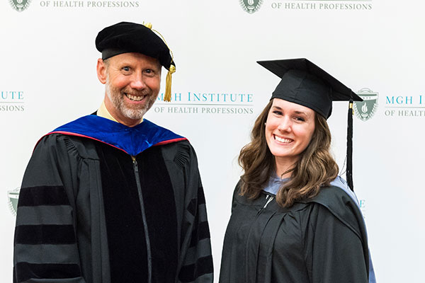 Chair Gregory Lof and Madeline Eileen Grimm '17