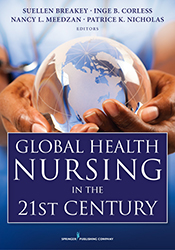 Photo of Global Health Nursing in the 21st Century cover
