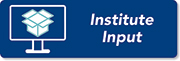 Institute input button