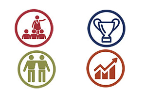 Icons for IHP Leadership Competencies