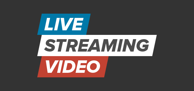 Live streaming video logo
