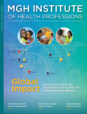 MGH Institute of Health Professions magazine