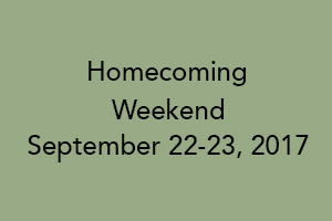MGH SON Alumnae Association Homecoming Weekend