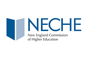 Graphic for the New England Commission on Higher Education (NECHE) logo