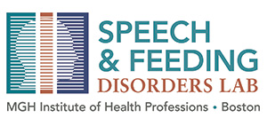 Logo for the Speech & Feeding Disorders Lab