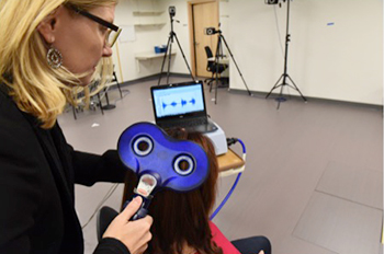 Transcranial magnetic brain stimulation