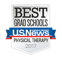 U.S. News & World Report Badge for DPT