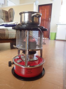 Our precious paraffin heater