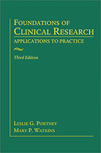 Image of book cover for Foundations of Clinical Research