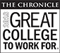 Logo for Great College to Work For 2018